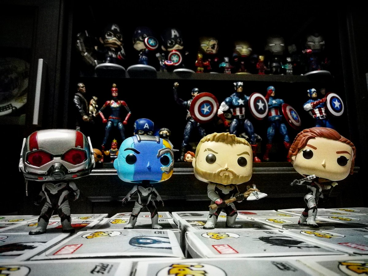 Soldout ❤️   #funkopop  #marvel #antman #thor  #blackwidow #mycollection #mamcollection #ครั้งหนึ่งเคยมี #marvellegends #cosbaby #captainamerica #captainmarvel #nickfury #ironman #spiderman #avengers #infinitywar #endgame https://t.co/GbdOsBxap4