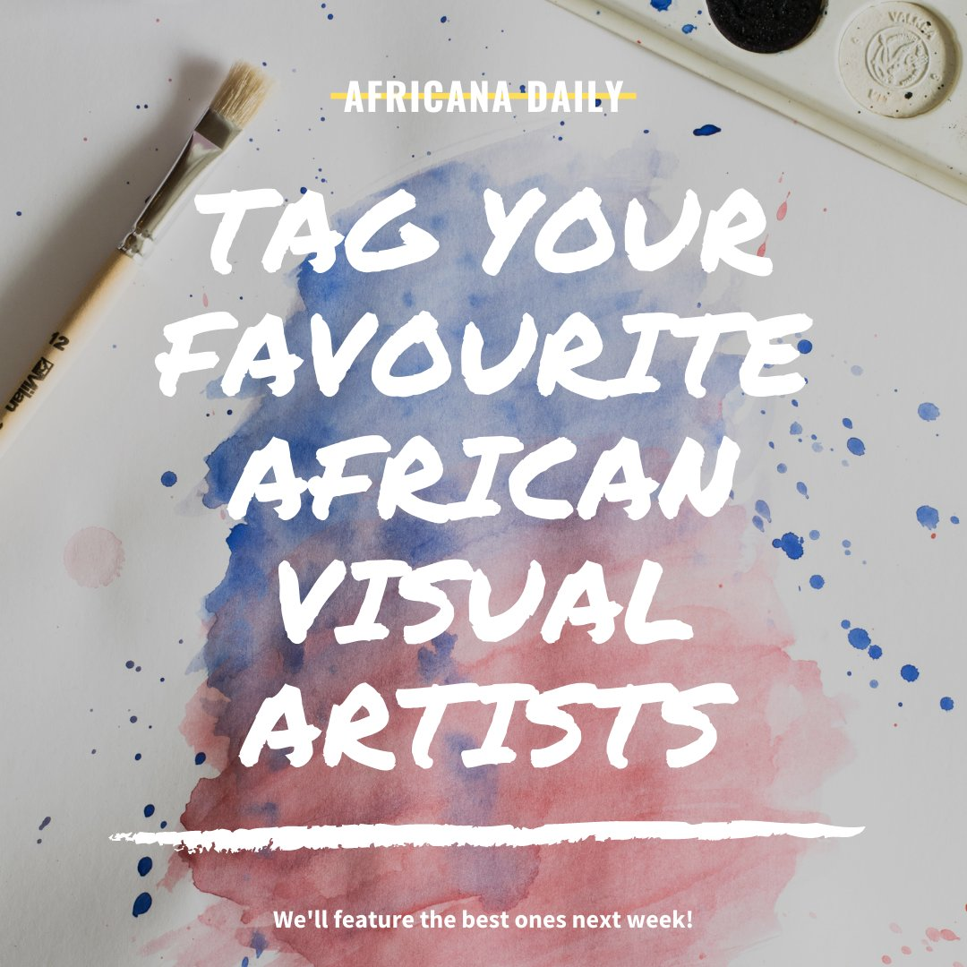 We want to know who your favourite African artists are? Let us know by leaving a comment and we'll show the best artworks next week.   🖼   📸 🎨  🧶 ✍🏾  🌍   #FavouriteArt #VisualArtists #AfricanArtists  #Painting #Drawing #Photography https://t.co/dlb84rFBAs
