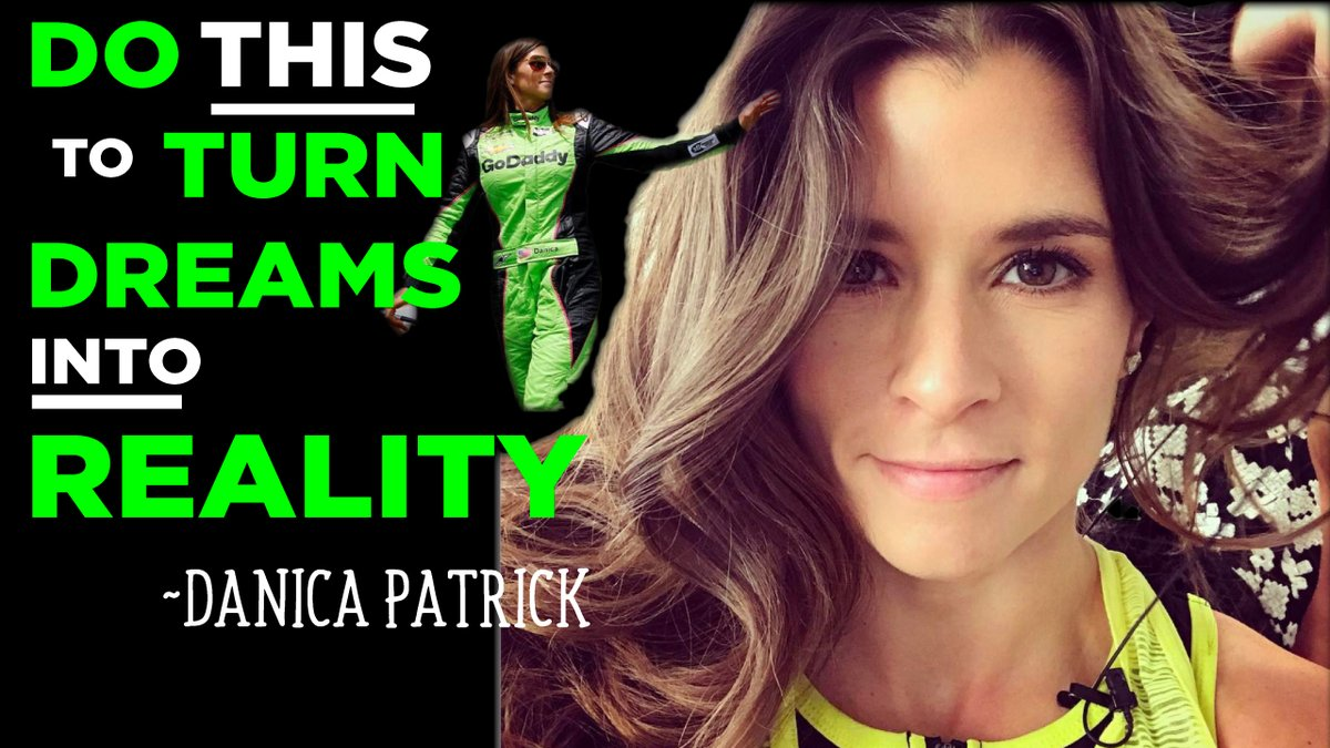 My chat w/ @DanicaPatrick talking deep thoughts and how to realize your dreams https://t.co/iaQLDzCkR8 https://t.co/1vUkXFeWJQ