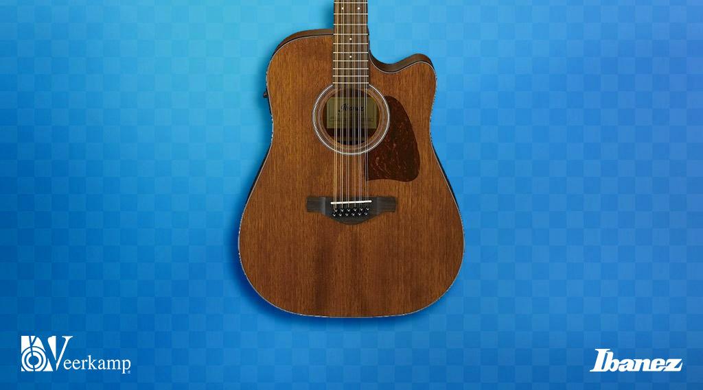 🚨 Las guitarras electroacústicas son de los instrumentos más buscados. 😎  👉 La Artwood AW5412 de @ibanezofficial esta hecha de caoba y cuenta con 12 cuerdas que ofrecen excelente sonido. 👌  📌 La encuentras en Veerkamp online: https://t.co/AMrVB9N45i https://t.co/5qrYU5JfSy