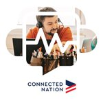 Image for the Tweet beginning: Check out the Connected Nation