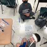 Image for the Tweet beginning: Math game fun in 4th