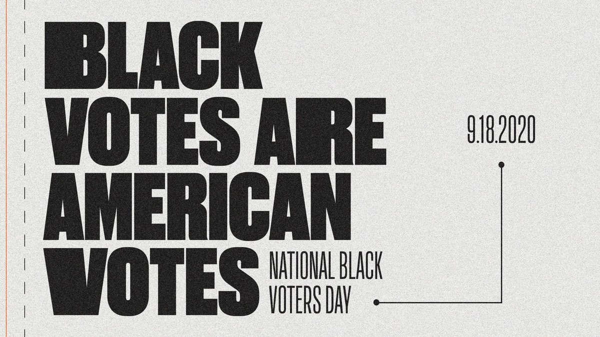 Today is National Black Voters Day. We stand with @BET, the @NatUrbanLeague, and countless others in demanding that Black voices be heard. Head to https://t.co/Wd9R2ps28C to stay informed. https://t.co/mKvZlJsrtf