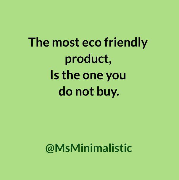 #shopifyoumust #beegreen #consumerism #buylessstuff https://t.co/jYVbfNmBin