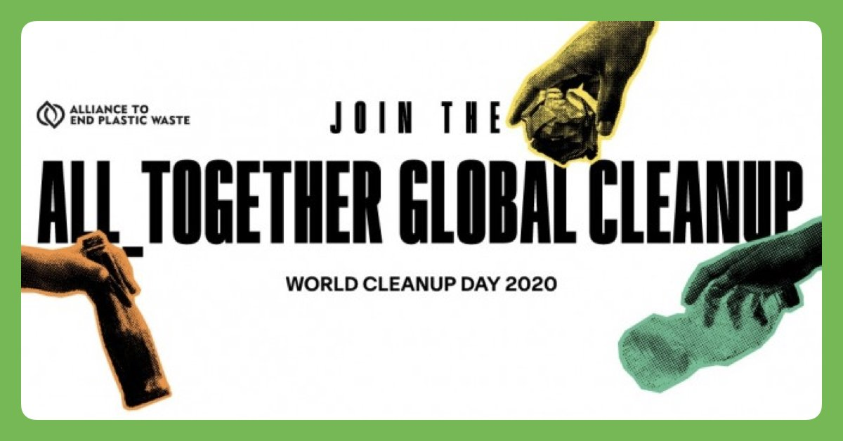 Join us from September 19 to October 4 in the ALL_TOGETHER GLOBAL CLEANUP. Download the @litterati app and get ready to pick up all the litter you can! Use challenge code PNPAEPW.  Read more 👉 https://t.co/vbClWbfoYB  @EndPlasticWaste @TED_ED   #AllTogetherCleanup https://t.co/nzxMSb3WOL