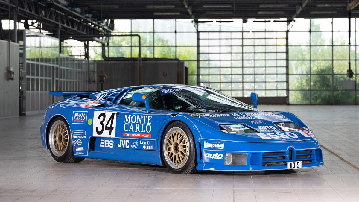Let's take a moment to remember the Bugatti EB110. Thought Bugatti was French? For a little while, it actually went Italian... https://t.co/PpTikcbR3a https://t.co/HeRsL9WlKV
