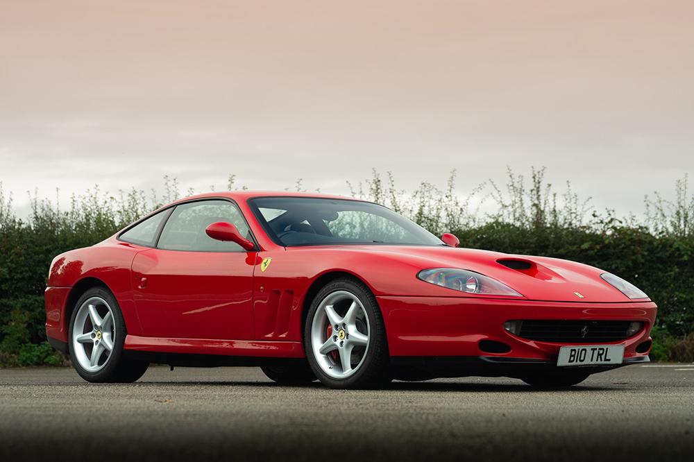 *LIVE AUCTION*  This Ferrari 550 Maranello is a great example of the flagship V12, previously owned not only by former Top Gear presenter Richard Hammond, but also by Harry Metcalfe, when it featured in @evomagazine.  Details: https://t.co/m2Cst1HSTM https://t.co/qY34AGg3V6