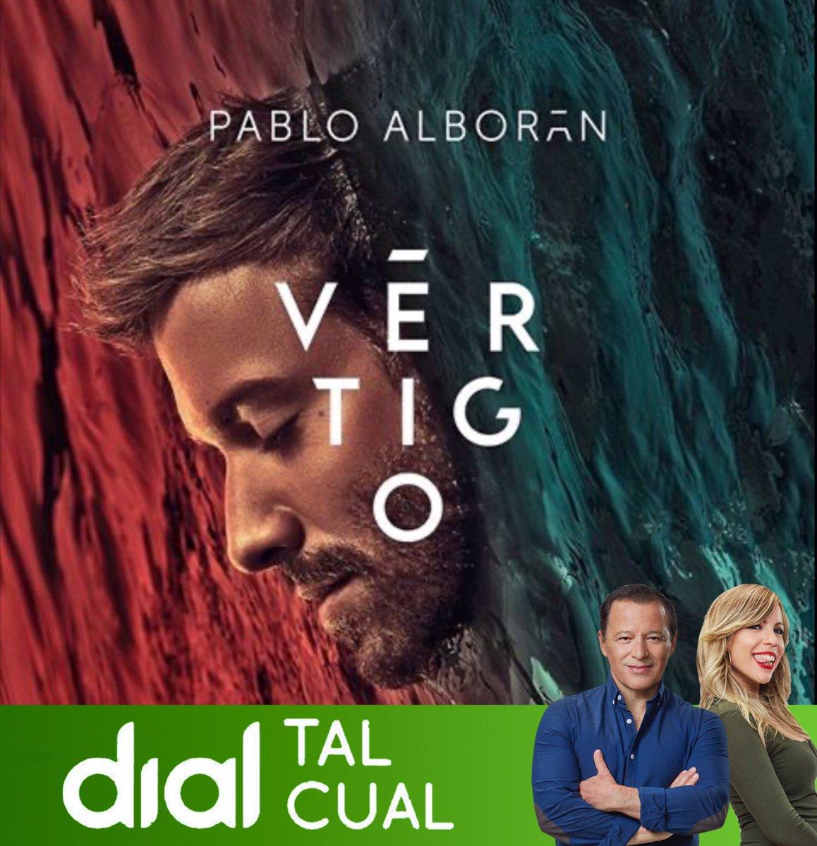 Este sábado en @Dialtalcual te contamos todo lo que nos ha dicho @pabloalboran de su nuevo álbum y nos ha dado Vértigo. RT #EscuchoDialTalCual @PatriciaImaz @Cadena_Dial https://t.co/FVkh82oC9g