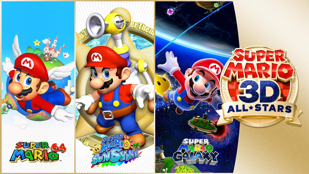 It's-a launch day!   Super Mario 3D All-Stars is available NOW! https://t.co/VBzOHEl4LP https://t.co/SQeXFJyLWz