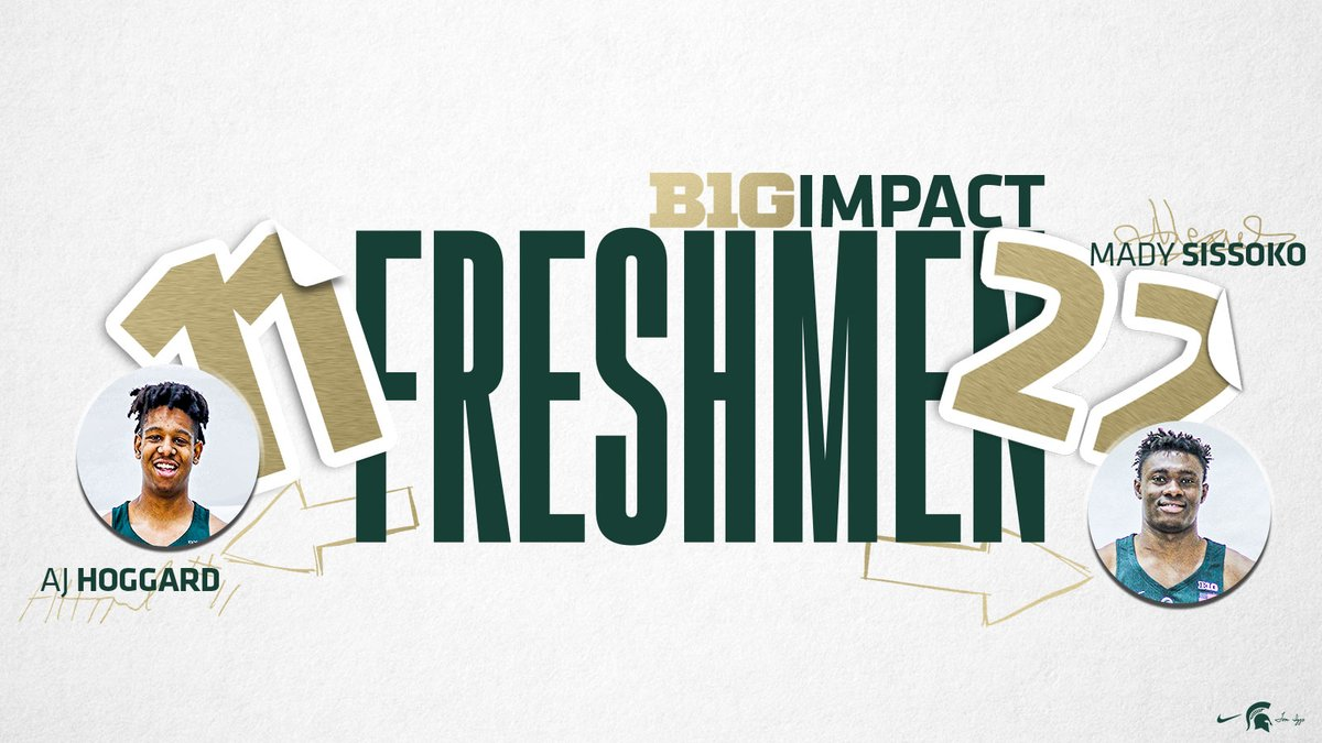Ready to contribute 🙌  Our guys @ajhoggard3 and @MadyGSissoko were listed as two impact freshmen in the #B1G by @JonRothstein 🏀 https://t.co/NbavFsOlOm