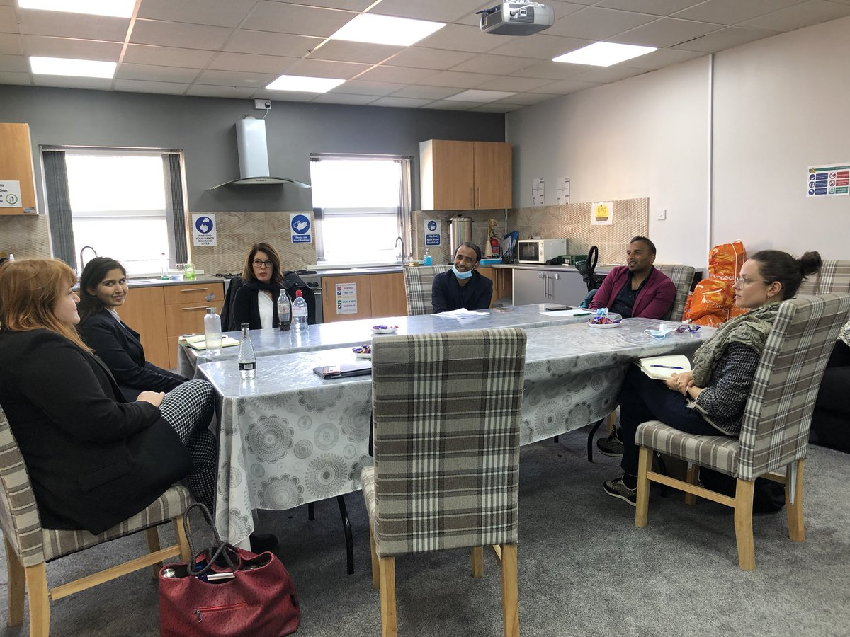 Thank you for coming down @alexbirtles to Bradford to listen to the community on Test & Trace & for consistently listening since #EidAladha 💜  Thank you for hosting @HumayunislamBFD and @MWIPproject 💜  Thank you for the intro @dianabarran 💜  @nearneighbours @WellspringsT 💜 https://t.co/8a0NIfsVun