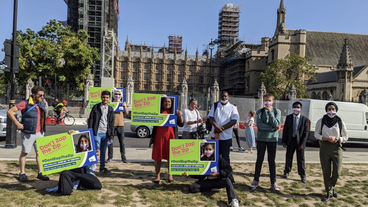Was a pleasure to take part in the #DontZaptheZip day of action today along with my fellow @LondonMyps I'm very thankful to MPs @MarshadeCordova & @BellRibeiroAddy who joined us today. We must fight to reverse this decision as it is bound to hit the poorest in society, hardest.