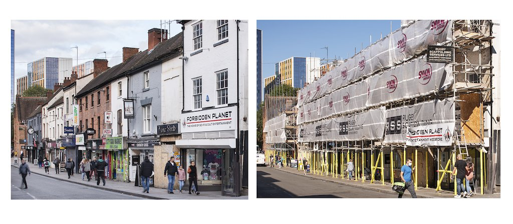 We're proud to be leading the national demonstrator project for the High Street Heritage Action Zone Initiative launched today. Check out progress in Coventry in these wonderful @HistoricEngland photos. #HistoricEngland #HistoricCoventryTrust #CoventryMoves #Burges https://t.co/FBrxWC3vK0