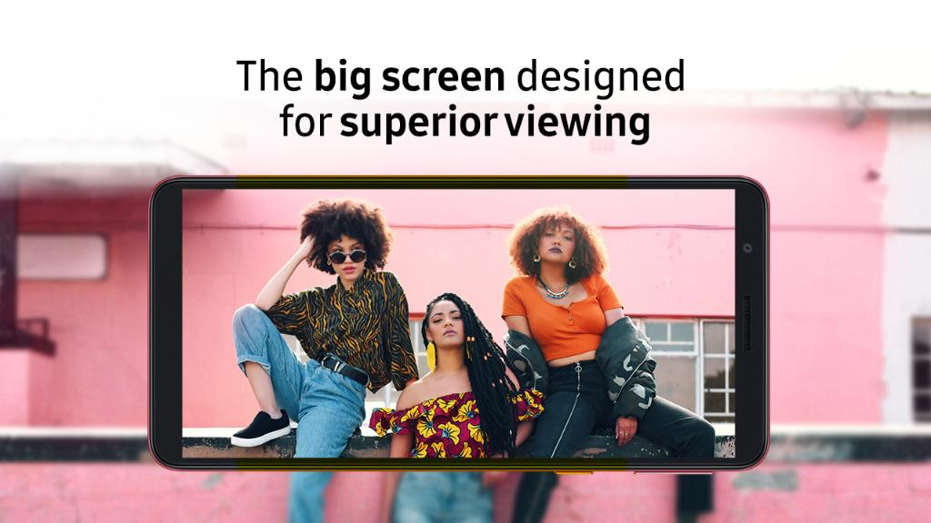 "With a 5.3 ""HD + display, the Galaxy A3 Core offers an immersive experience on the big screen - allowing you to enjoy your content to the fullest! Learn More: https://t.co/Wk2hWtQX6i https://t.co/DsLAnczpsv"