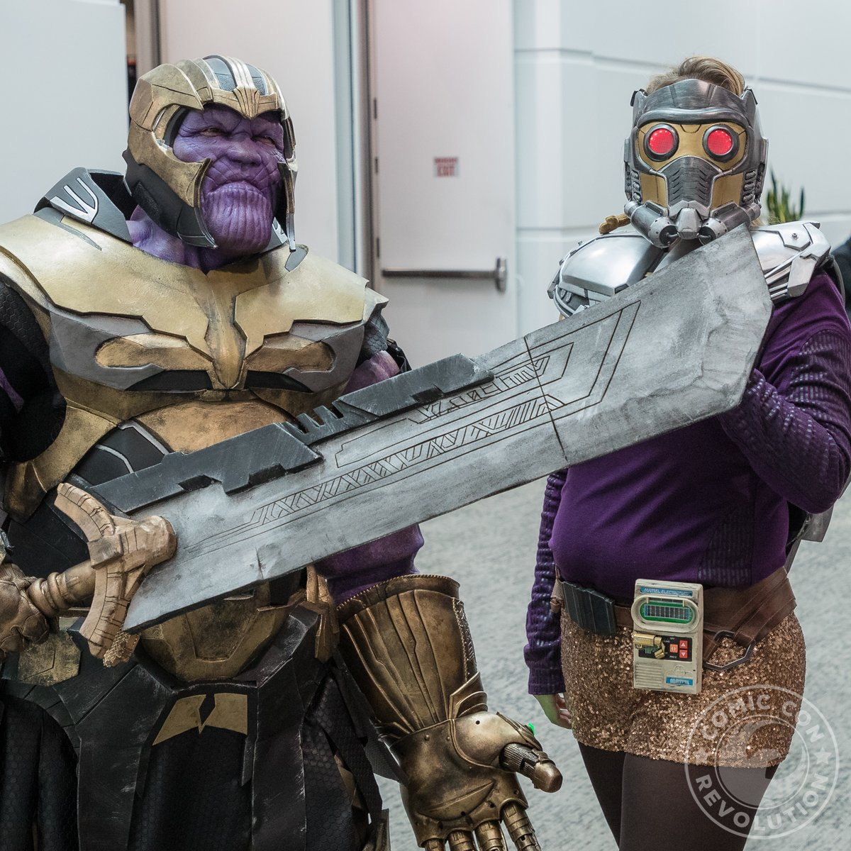 Thinking back to 2019 for our #FlashbackFriday moment. Talk about killer cosplay by our attendees...  #thanos #starlord #comiccon #comicconrevolution #inlandempire https://t.co/I6xiGktflJ
