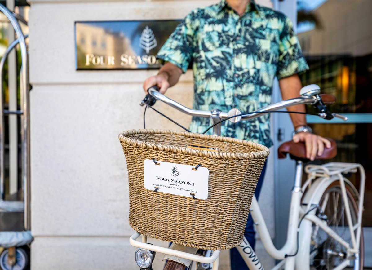 Let us steer you in the right direction during your next stay. Complimentary bicycle rentals will be available at our home base in the Santa Cruz Mountains. https://t.co/4ZLlJm39ft