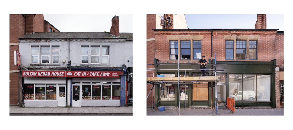 We love these photos of the national High Street HAZ Demonstrator project in Coventry taken by @JamesODavies, Historic England. #HistoricEngland #HistoricCoventryTrust #CoventryMoves #HalesStreet https://t.co/oc2065ENpg