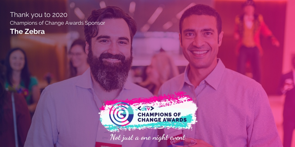 Friday Flashback to #CoC2020 sponsors @thezebraco   We're looking forward to the 2021 Champions of Change Awards when we honor those whose actions speak louder than words with all proceeds going directly to supporting DivInc programs.   #WhyDivInc #DiversityandInclusion https://t.co/mExmKQf8OB