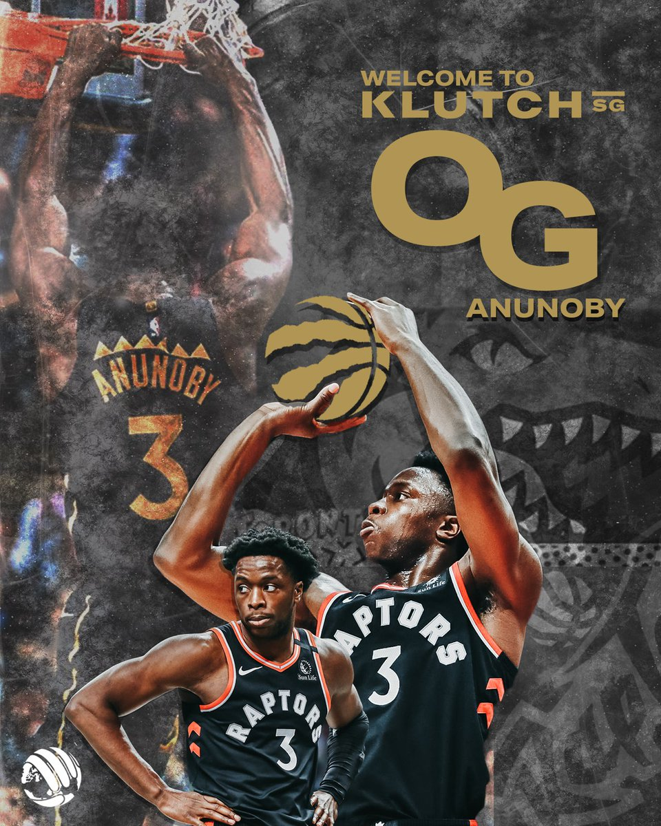 We are excited to welcome @OAnunoby! #Klutch