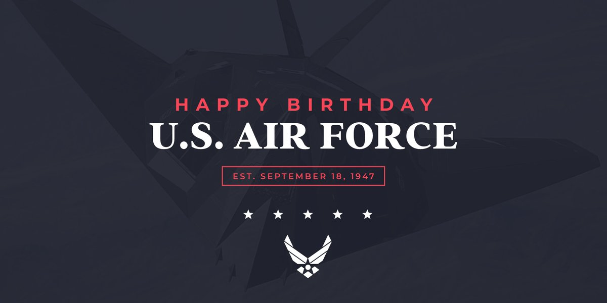 Happy Birthday, @usairforce! #USAF73 https://t.co/IurYi28zdh