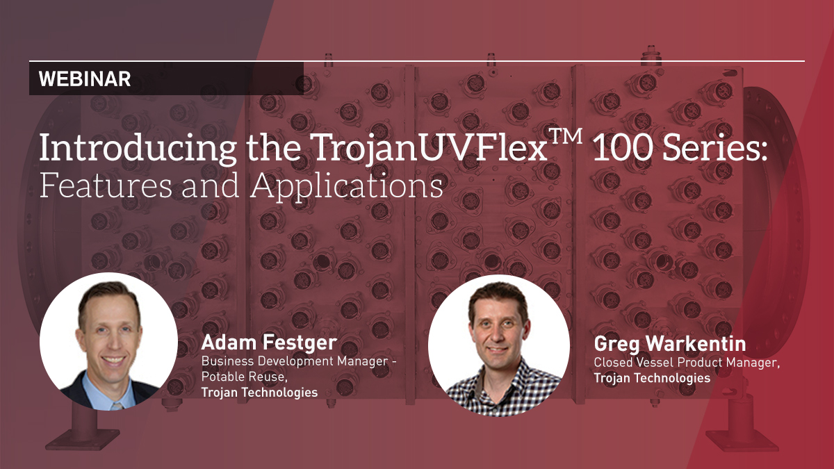 On Tuesday, September 29 at 11:00 a.m. EDT we'd like to introduce you to the newest addition to the TrojanUVFlex™ product line – the TrojanUVFlex 100 Series.  Learn more and register here: https://t.co/GFbI4Kb756  #drinkingwater #uvdisinfection https://t.co/NZquXMxTs4