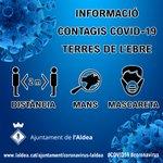 Image for the Tweet beginning: 🔴  Actualització dels contagis