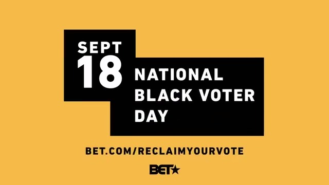 Your voice matters today and every day. Get the word out for #NationalBlackVoterDay. #ReclaimYourVote.