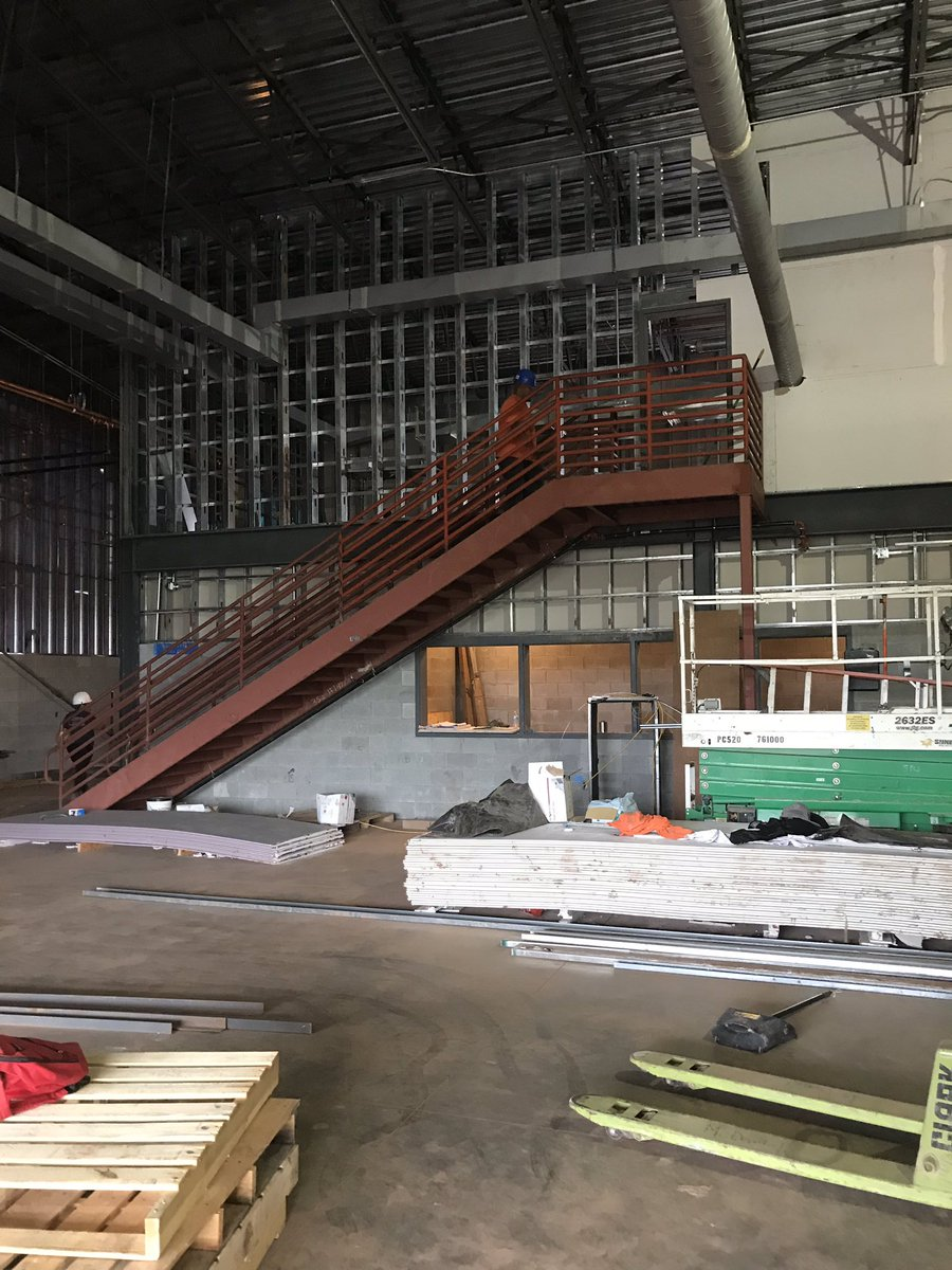 A look inside the #CTE School construction.  #Vision #Progress #FutureReady https://t.co/ZgH988kdQV