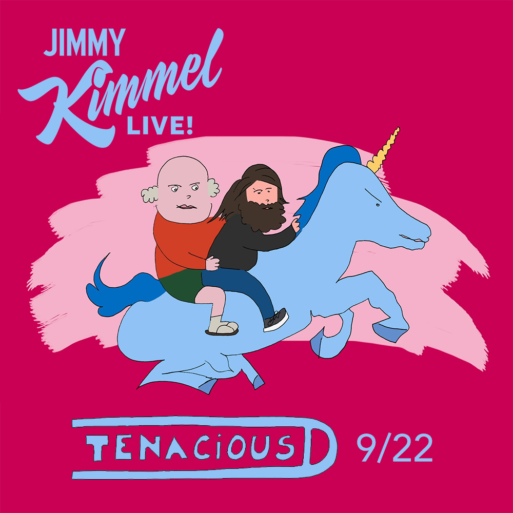 The D return to @JimmyKimmelLive on Tuesday Sept 22 to chat and throw down a jam! Tune into ABC at 11:35p/10:35p CT! https://t.co/6hSpjYLds2