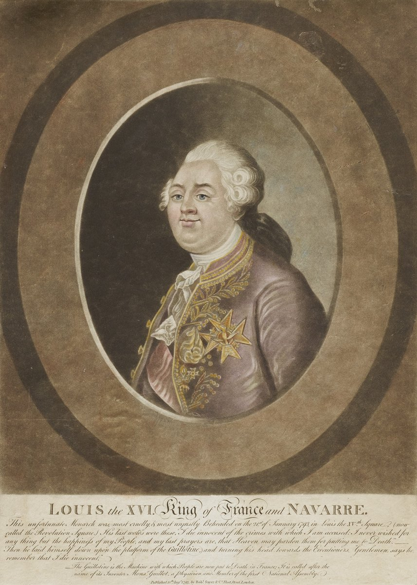 Louis XVI, King of France and Navarre, Unidentified (British), n.d. https://t.co/DZVCLDIEmw #openaccess #americanartmuseum https://t.co/TBJD5YPADW