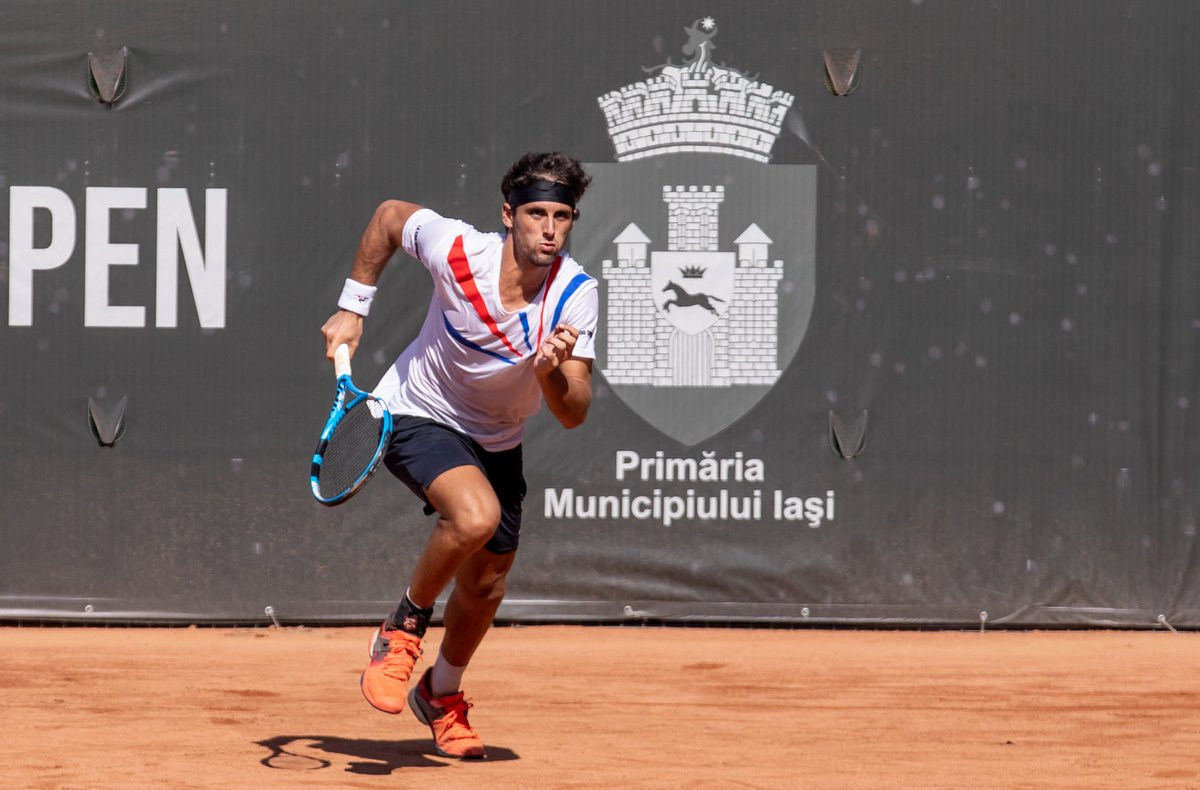 They are flying the 🇪🇸 in Iasi. Three Spaniards book their spots in the semis.   🔸 Munar vs. Taberner 🔸 Andujar vs. Bourgue  ⏰ 12pm noon on Saturday https://t.co/Tx97Euv3xO