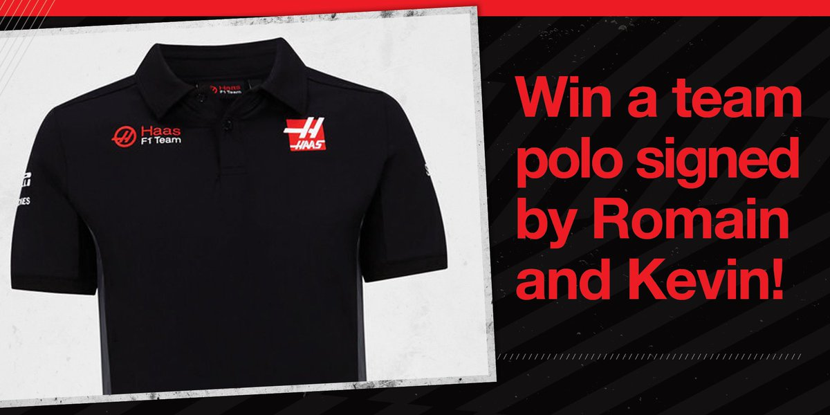 We've got a team polo shirt signed by @KevinMagnussen and @RGrosjean up for grabs in our latest Haas+ giveaway!   Enter for free here 👉 https://t.co/7qzhl4yTvS https://t.co/RfhNuQUjy8