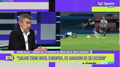 """.@gglait: """"#Salvio tiene nivel europeo, es jugador de Selección""""  Figura en #Boca, ¿tendrá lugar en #Argentina? ¿Será convocado por #Scaloni? 🤔 https://t.co/ayvbKbIZ5y"""