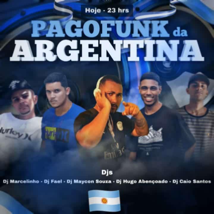 BOA NOITE PASSANDO PRA DIVULGA QUE HOJE ROLA AQUELE #PAGOFUNK #NA #ARGENTINA 🇦🇷🕺💃 https://t.co/zhZTO4z4uH