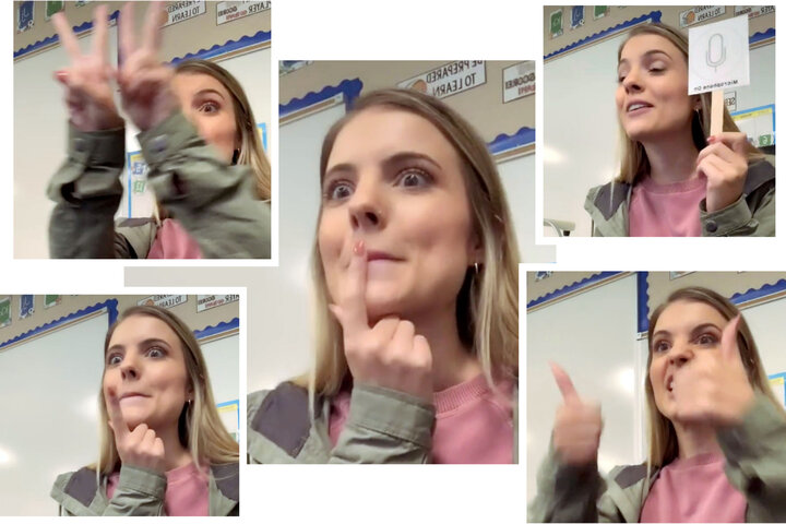 A viral video of a kindergarten teacher trying to teach her students how the mute button works shows the extraordinary energy it takes to teach remotely. She told us how she does it in our latest schools newsletter: https://t.co/nKfp69y1Gq https://t.co/G7yU5h1nKJ