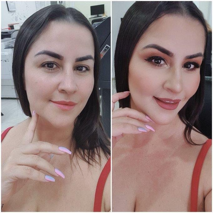 Que prefieren natural o maquillada?  Makeup or natural😇 https://t.co/groBPnsczh