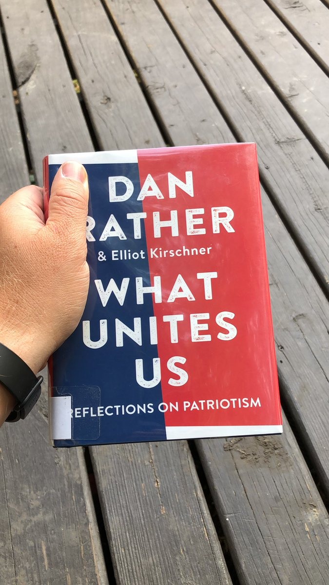 As we slowly slip further apart as a nation - a divide caused by so many differing factors - its refreshing and uplifting to read what truly makes America great and how looking back can move us forward to become a more perfect union. Thank you. #whatunitesus @DanRather https://t.co/DoqzfbPUmJ