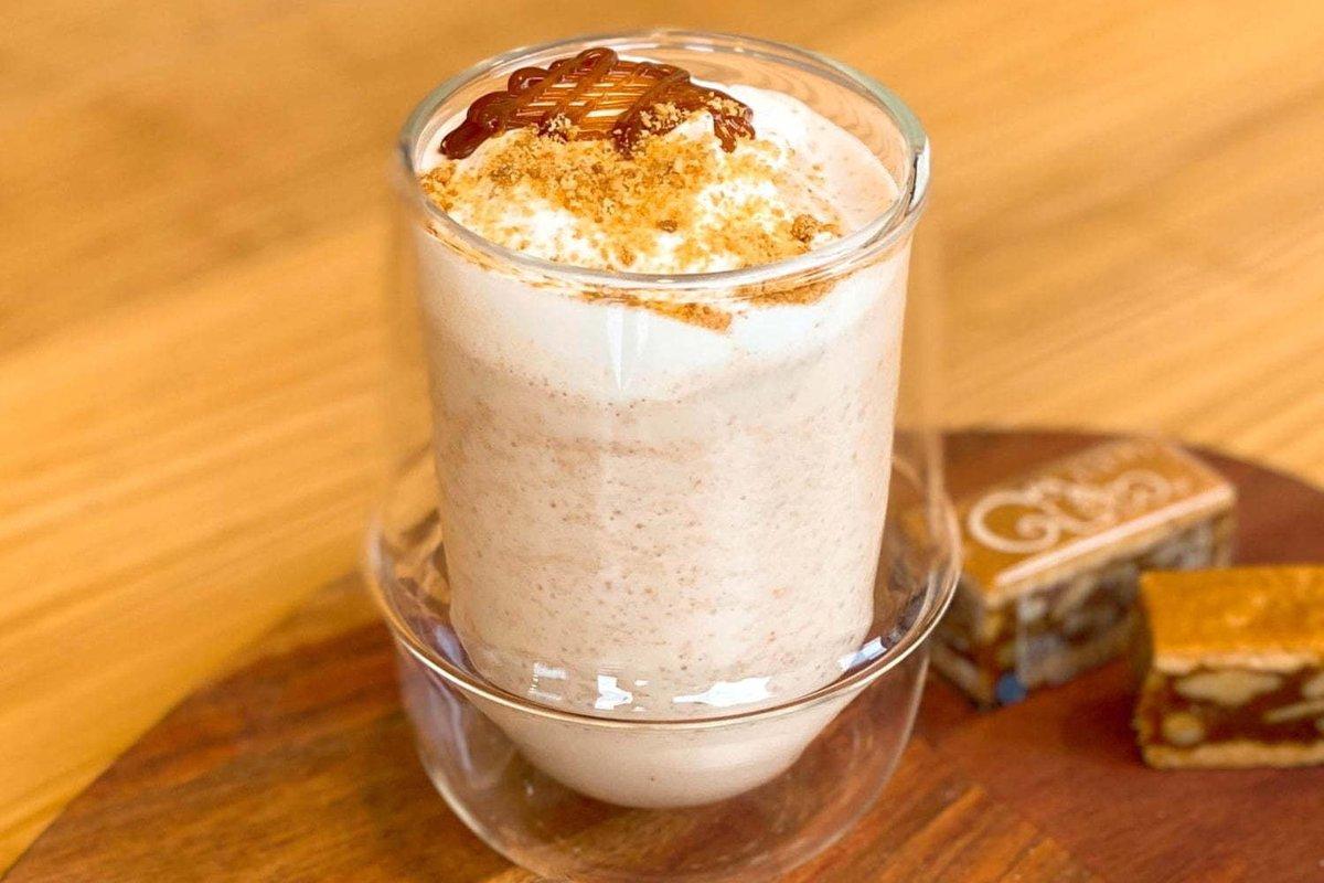 [明日発売] 「クルミッ子」がドリンクに!クルミッ子を丸ごと味わえる「飲むクルミッ子」鎌倉紅谷のカフェで -