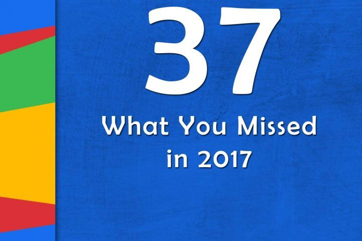 What You Missed in 2017 (GTT037)  https://t.co/3ss9zBi4zt  #ditchbook https://t.co/YR1eVRA891