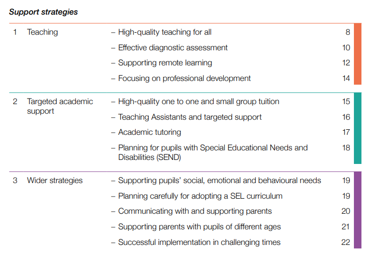 Our new School Planning Guide 2020-21 proposes a tiered model - here's a flavour of what's inside...  >> Read / download, free, here: https://t.co/odJtQC1du5 https://t.co/pT0rU0e7t4