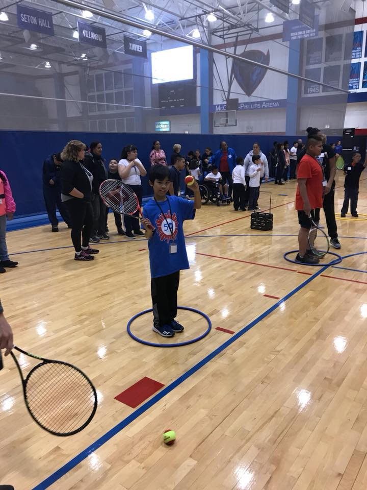 Today we want to share some pictures of tennis skills and competitions from previous years. Take a look at some fun pictures! If you have any pictures of yourself playing tennis share them in the comments below! https://t.co/6KuCmBaBu9