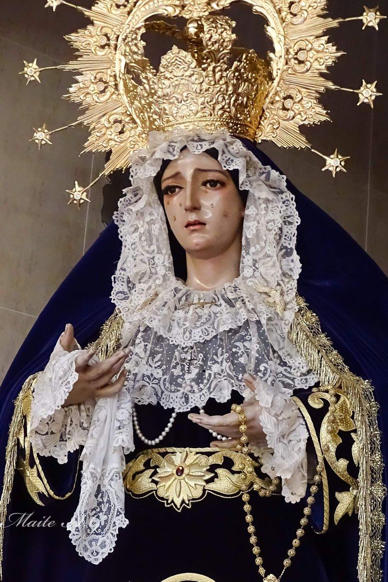 María Santísima de Nueva Esperanza  @hnuevaesperanza #NuevaEsperanza #CofradiasMlg #SemanaSantaMlg #MartesSanto https://t.co/QOY1mBJXWw