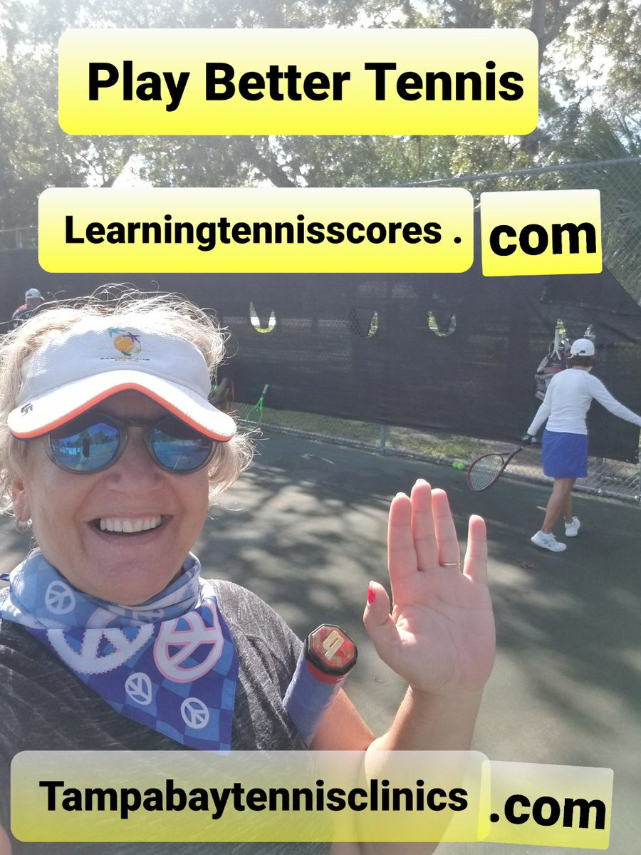 Play Better Tennis  https://t.co/yzNpQMIQVL  #Tenniscoaching #Tennislessons #tennislesson #Tennisclubs #tennisinstruction #tennisinstructor #cov19 #eastlakes #timberpines #bardmoor #PrivateSchools #privateschool #coronavirus  #tennisinstructor #tennispro #teacherappreciationweek https://t.co/FZNxi1ncWl
