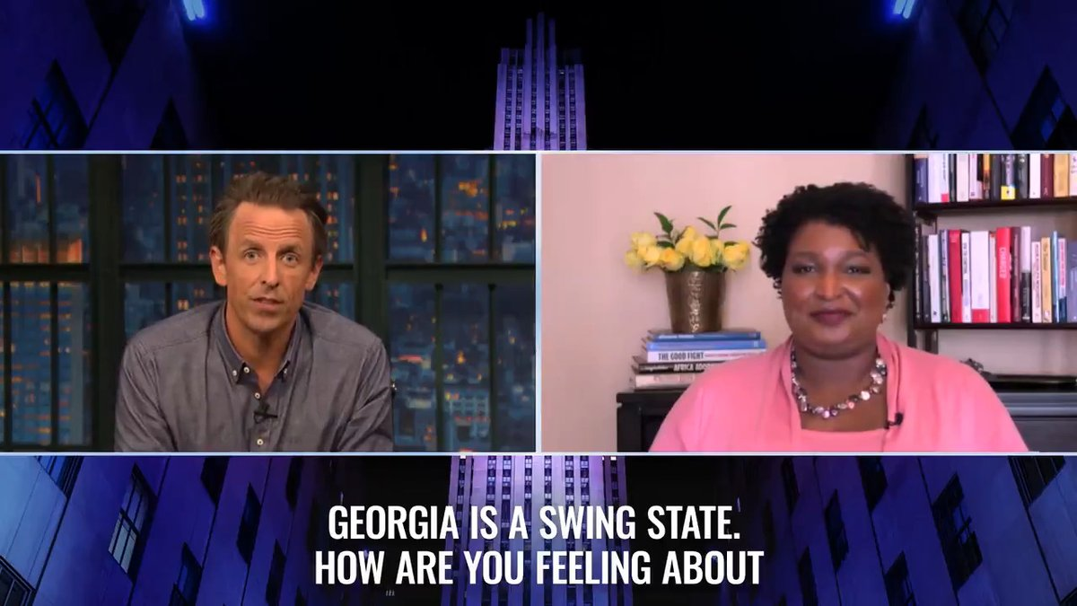 .@StaceyAbrams lays out how Georgia could go blue in November. https://t.co/JR15zlHims
