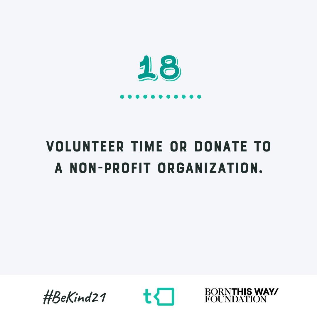 Day #18 of #BeKind21!  @BTWFoundation https://t.co/fqa3b0scnt