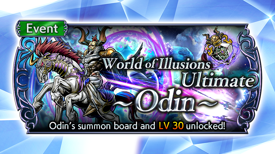 Happy Friday! What are you focusing on this weekend in #DissidiaFFOO?  Don't forget, the World of Illusions Ultimate: Odin limited-time missions will disappear on Monday, September 21 (UTC), so be sure to complete them! https://t.co/H0VKpIschF