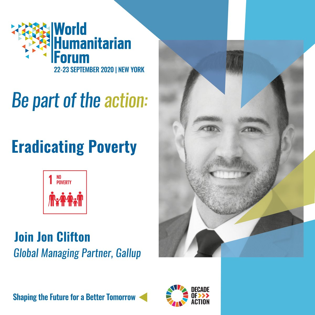 Join Gallup's Global Managing Partner, @JonCliftonDC, for a discussion on eradicating poverty at @WHForumLondon on Tuesday, September 22nd. https://t.co/u1ErqF4E6h #WHFNY2020 https://t.co/mPOCUH4NsT