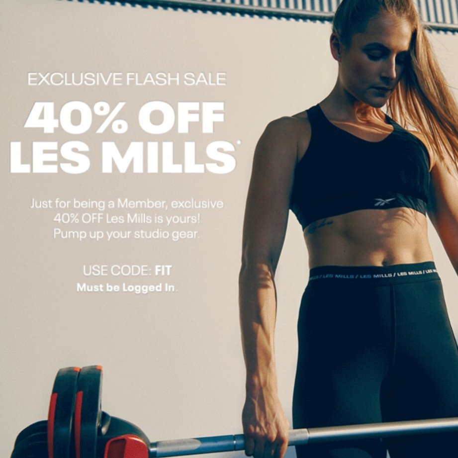JOIN UNLOCKED FOR 40% OFF LES MILLS. Members Only use code FIT at checkout! https://t.co/bpZuOd9qVY https://t.co/WbJDukpjSX