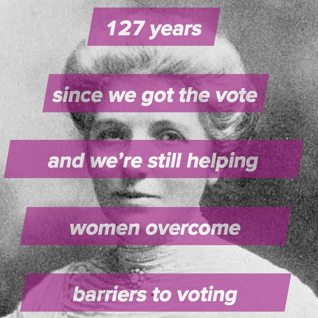 SUFFRAGE DAY | Today marks 127 years since women in New Zealand got the right to vote and in the spirit of Kate Sheppard we're still breaking down the barriers for women enrolling and voting today. https://t.co/urRRbMF8f0