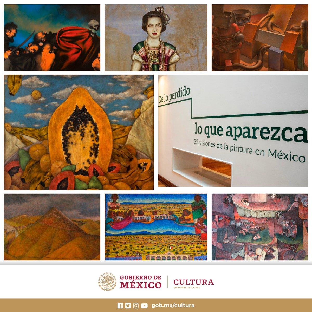 ¡Cada #DomingoDeMuseos puedes visitar el @CC_LosPinos! 🏛️   Las obras de más de 30 artistas que durante años permanecieron guardadas te esperan con todas las medidas de higiene. ¡Queremos #VolverAVerte!    📍 De lo perdido, lo que aparezca | Casa Miguel Alemán | 11 a 17 h https://t.co/FZbSqg5l3s